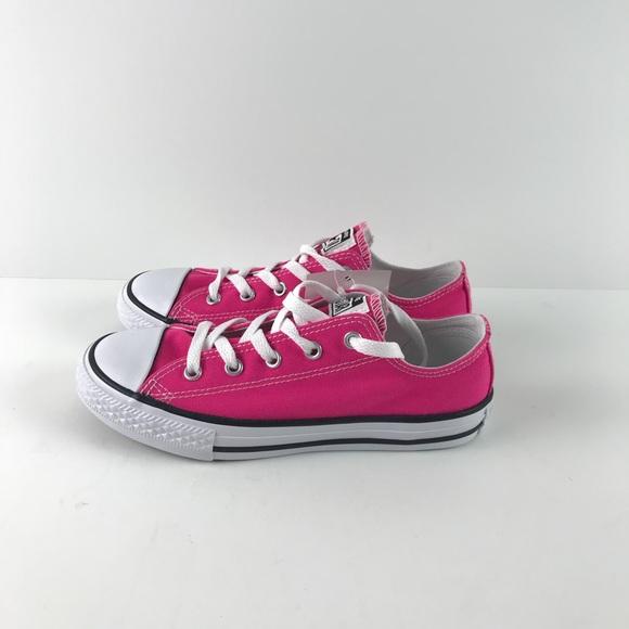 Girls Pink Converse All Star Size 2 NWT 3fca20b49c47